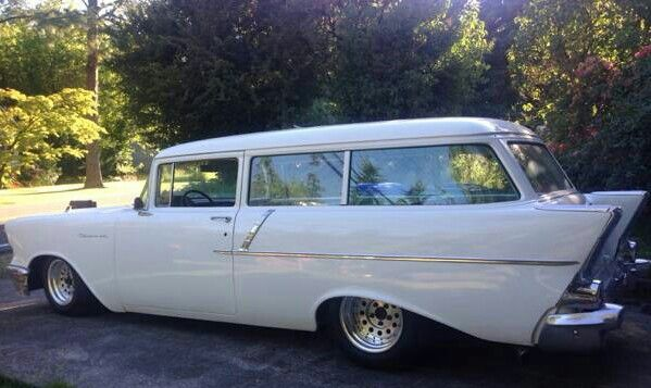 1957 chevy 2 door wagon chevy pinterest for 1957 chevy 2 door wagon for sale