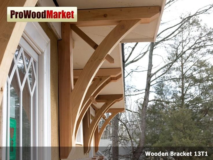 Wooden Cedar Bracket 13T1 Exterior Wall Brackets Pinterest