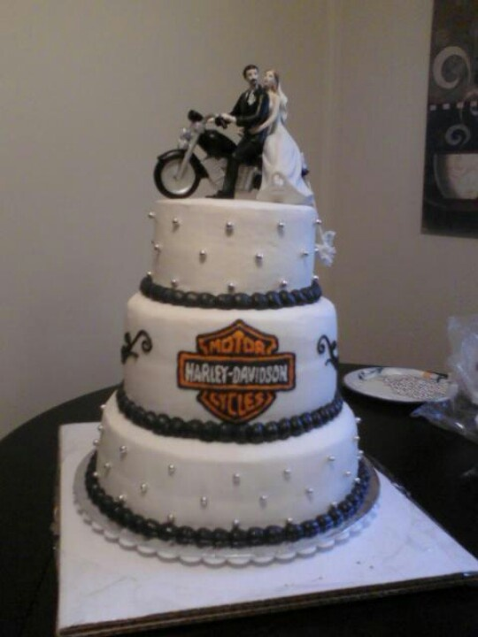 Wedding Anniversary Cake Images Hd : Pin Harley Davidson Wedding Cake Topper Topperss Blog Cake ...