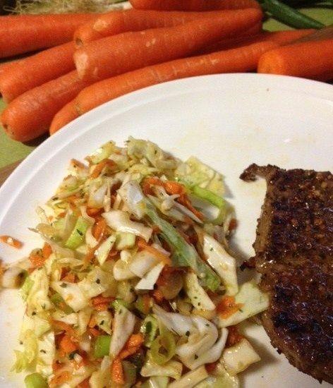 Asian Inspired Coleslaw Recipe — Dishmaps