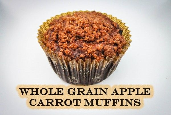 Apple Carrot whole wheat Muffin | Breads, Muffins, Pancakes, etc. | P ...