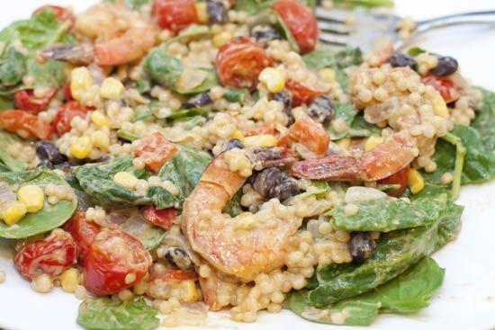 Avocado Ranch Israeli Couscous Salad | Avocado ♥ers | Pinterest