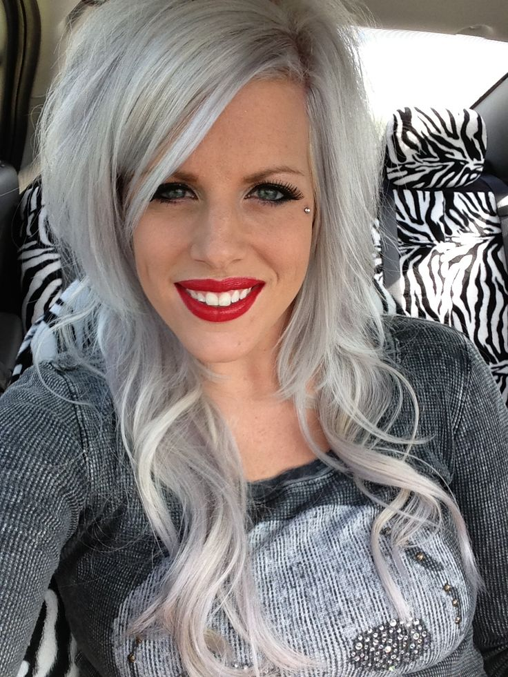 Silver Hair Extensions Hairs Picture Gallery
