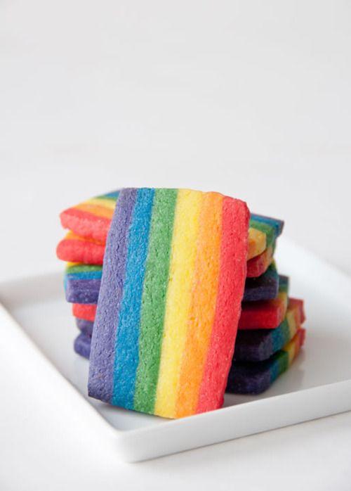 rainbow cookies. | Baking | Pinterest