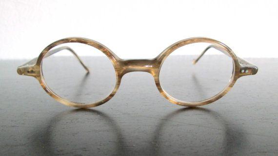 Lafont Round Eyeglass Frames : Jean LaFont Orsay 562 Horn Vintage Designer Round Eyeglass ...