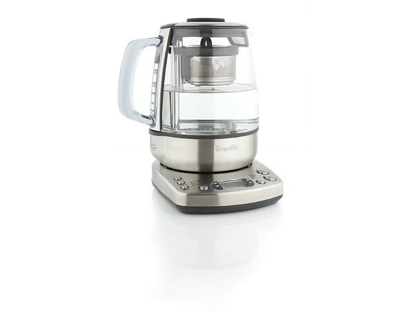 Breville One-Touch Tea Maker | A flawless brew. Heats your water to the correct temperature, deploys basket to steep and auto-lifts the basket at the correct time to prevent oversteeping.