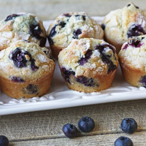Blueberry Buttermilk Muffins - I substituted the blueberries for ...
