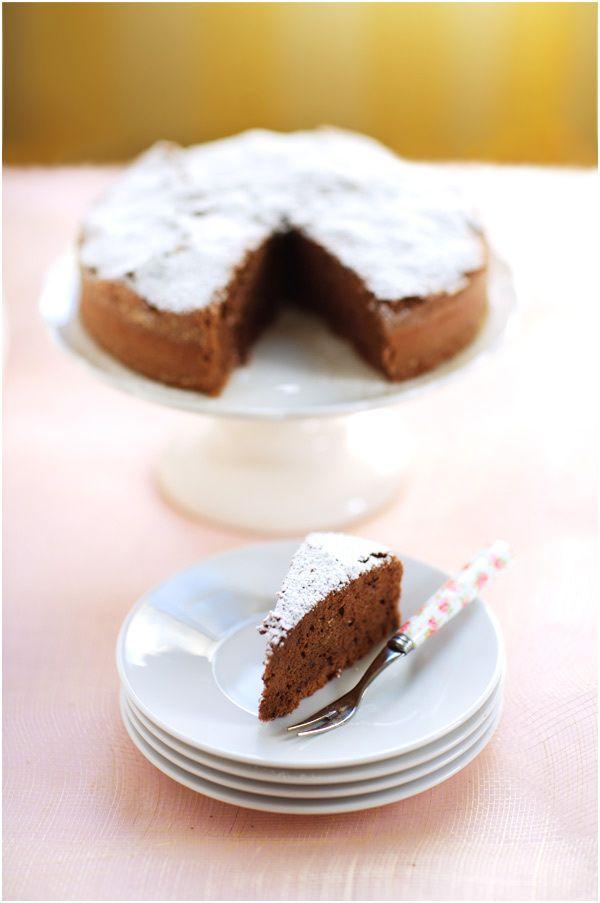 Chocolate Cake with Character: Buckwheat, Hazelnut and Applesauce ...
