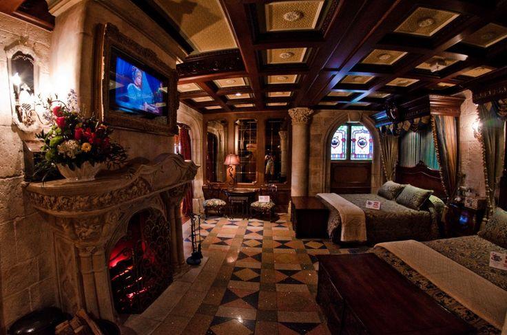 cinderella 39 s castle bedroom suite disney pinterest