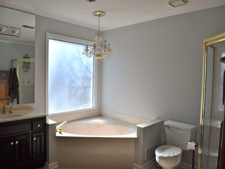Modern Bathroom Gray Wall Paint Color Ideas Room Paint Color