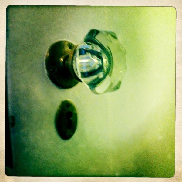 Glass door knob colored glass door knobes pinterest