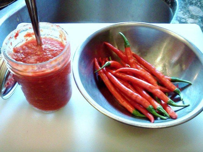 Homemade Sriracha Sauce | Vegan-Licious Hot Sauces | Pinterest
