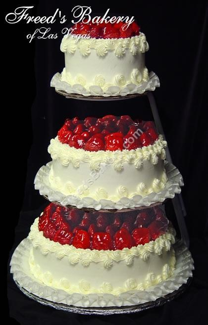 Strawberry Cheesecake Wedding Cake | Is that a CAKE? | Pinterest