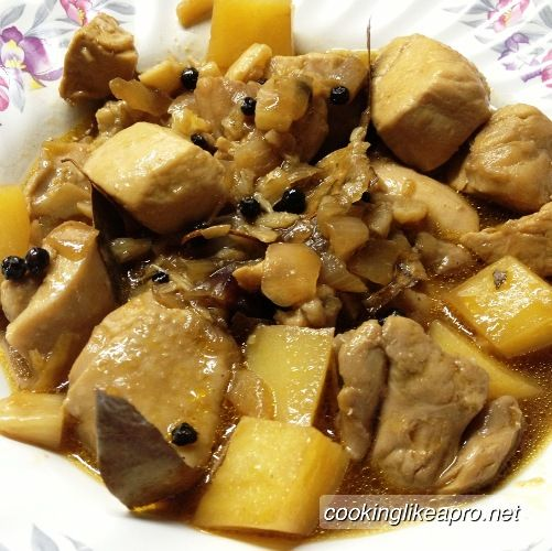Filipino Chicken Adobo | Asian eats | Pinterest
