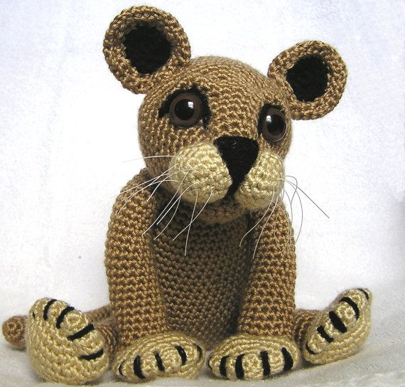 How To Crochet A Lion : crochet cubs PDF Crochet Pattern LION CUB by bvoe668 on Etsy