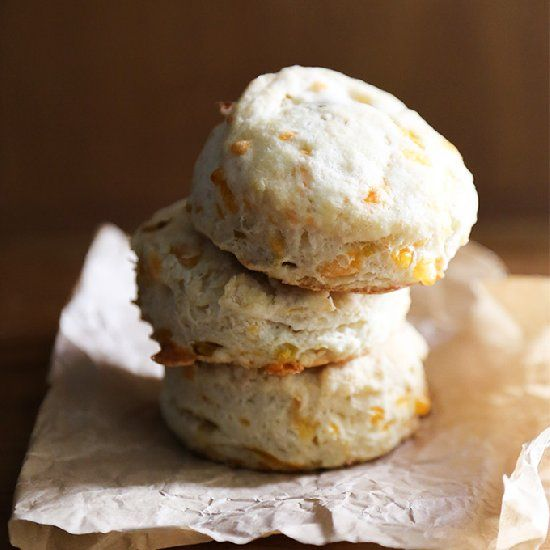 Cheddar and Leek Buttermilk Biscuits. | Recipes | Pinterest