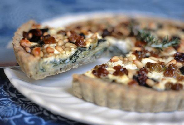 Swiss Chard, Leek, and Goat Cheese Tart | Recipe