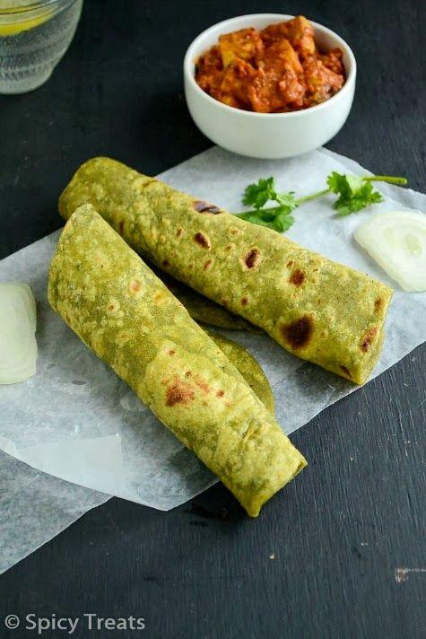 Spicy Treats: Moongdal Palak Paratha | Food Lust | Pinterest