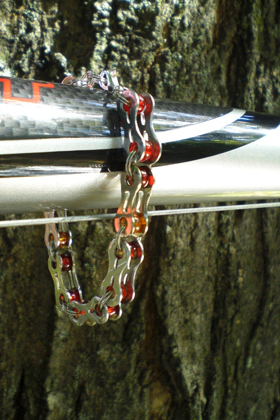 Bicycle Jewelry  Stainless Steel Chain Link by Winterwomandesigns, $20.00