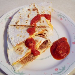 Grilled Pizza Wraps Allrecipes.com | Pizza | Pinterest
