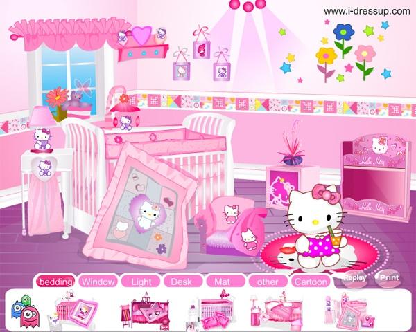 Juegos De Decorar Baño De Hello Kitty:hello kitty