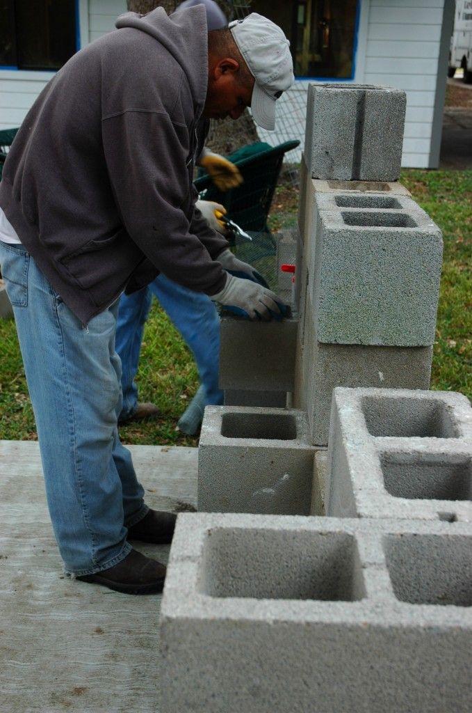 Cinder Block Planter Green Thumb Pinterest