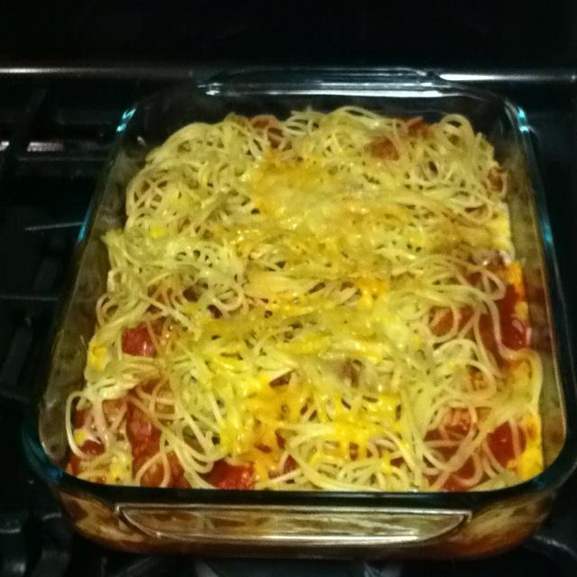 Grilled Spaghetti And Meatballs Recipe — Dishmaps
