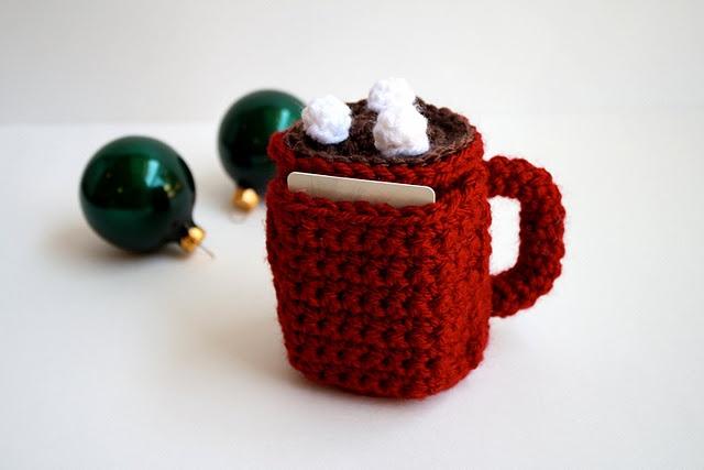 gift card holder | Crochet | Pinterest