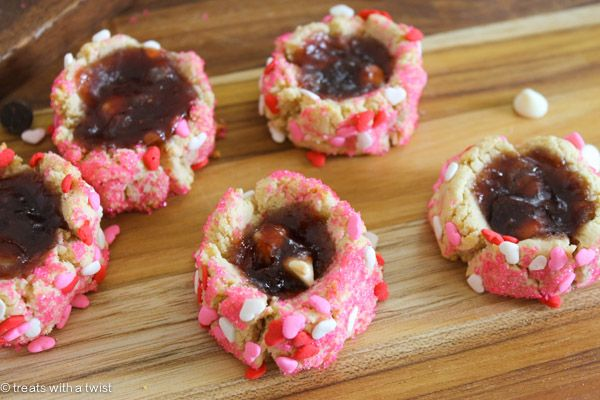 thumbprint cookies kathleen king s chocolate thumbprint cookies ...