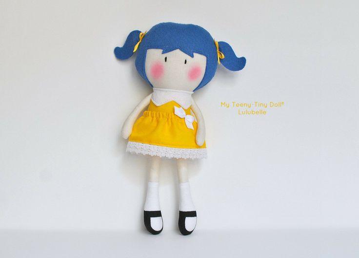 """Мой Тини-Крошечный Кукла ® Lulubelle / 11 """"ручной кукол от Кука вас Некоторые Лапша"""