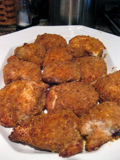 ... Foodie » Oven Fried Garlic Parmesan Chicken   Recipes   Pinterest
