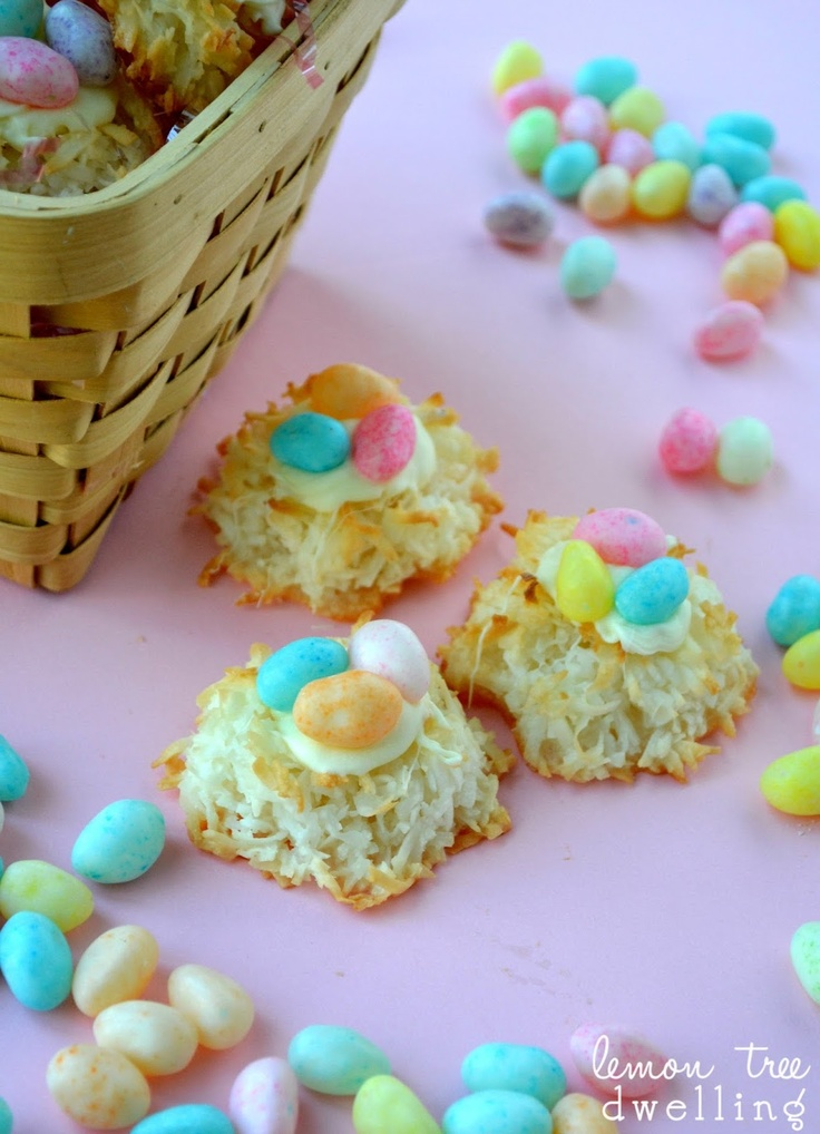 Festive Coconut Macaroon Nests from Lemon Tree Dwelling - the perfect ...