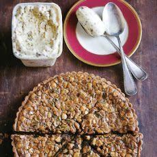 Toasted Nut Tart Recipe | s w e e t + s a v o u r y | Pintere…