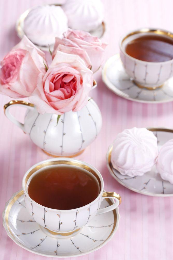 teapot & roses