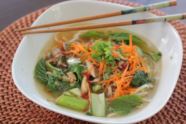 Vegetable Udon Noodle Soup | yummy food | Pinterest