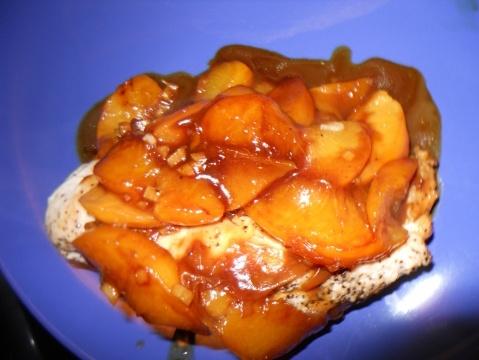 Southern Peach Chicken | Nourish. | Pinterest