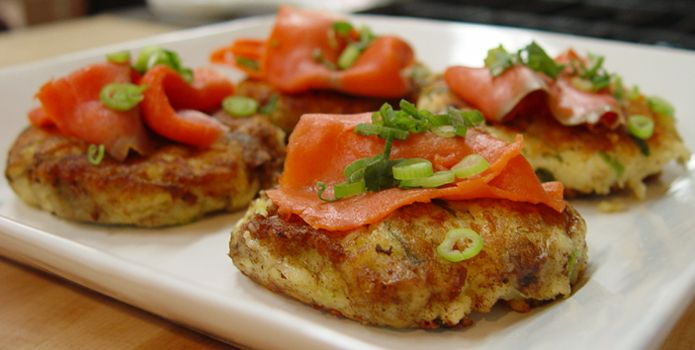 Potato Bacon Cakes - Asian Food Channel | Favorite Recipes | Pinterest