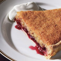 Bakewell Tart with Raspberry Preserves | Pies | Pinterest