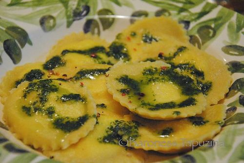 Lemon and goat cheese ravioli | Healthy or just looks yummy | Pintere ...