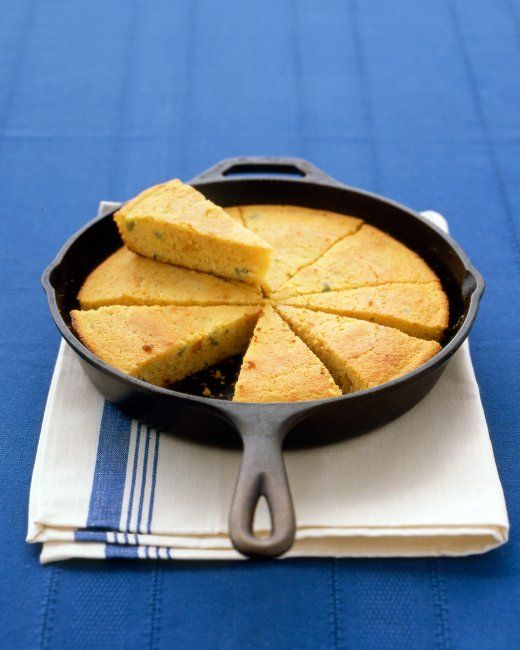 Skillet Cornbread Recipe | Cooking | How To | Martha Stewart Recipes