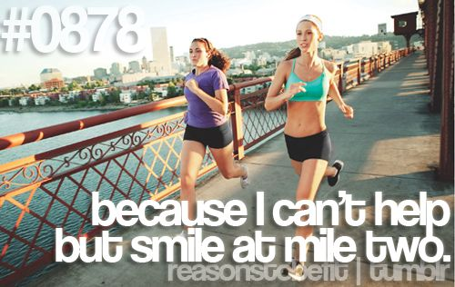 Ahh! This is why I love running it brings out the best in me. I forget about everything bad and just get into the zone.