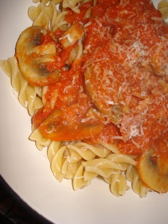 Mushroom, bacon pasta | Mushrooms | Pinterest
