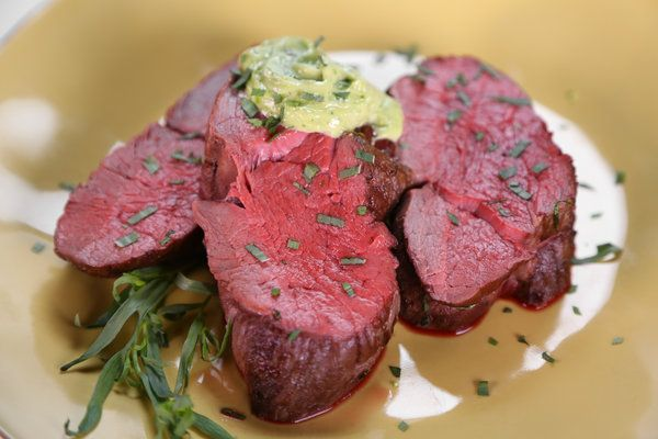 Ina Garten Beef Tenderloin Gorgeous Of Ina Garten's SlowRoasted Filet of Beef with Basil Parmesan Mayonnaise  Pictures