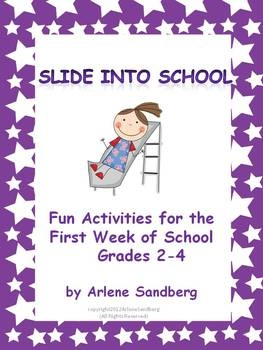 Great activities for the first week of school
