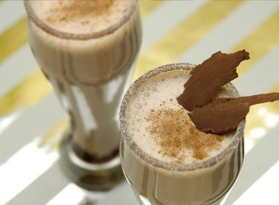 Spiced Chocolate Eggnog | Egg Nog | Pinterest