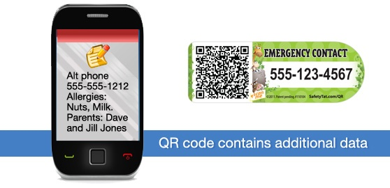 Emergency Contact Info for Children on the Go | Mom with a Prep Blog