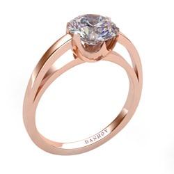 DANHOV     14K  Rose Gold Engagement Rings    $350.99