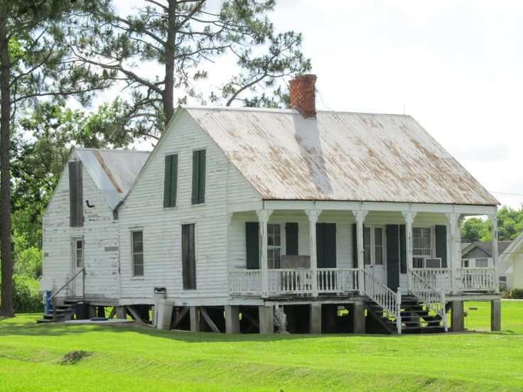 Hwy 1 acadian creole cottages pinterest for Acadian cottage house plans