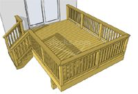 Pin by katie dover on new house pinterest for 12x16 deck plans free