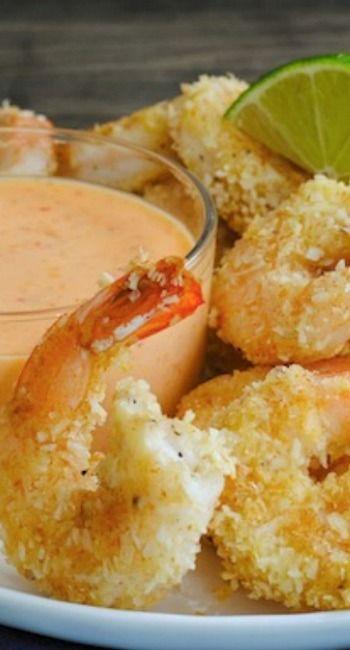 Coconut Shrimp With Sweet Chili Mayo Recipe — Dishmaps